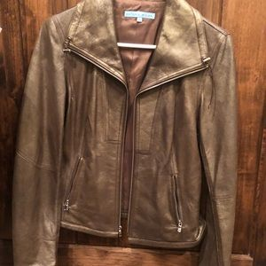 Antonio melani 100% leather jacket.